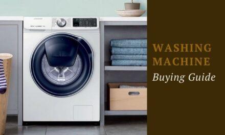 Washing Machine buying guide in India. Choosing the right washing machine