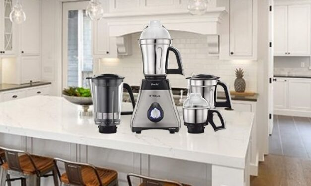 Review of Preethi Steel Supreme 750W MG208 mixer grinder (mixie)