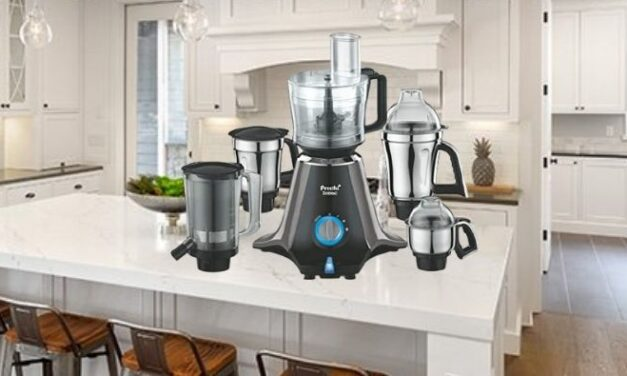 Review of Preethi Zodiac MG 218 mixer grinder (mixie)