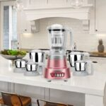 Review of Panasonic MX-AV625 Rose Gold 600W mixer grinder (mixie)